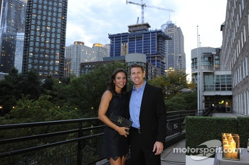 Carl Edwards with wife Katie