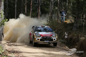 Khalid Al Qassimi and Scott Martin, Citroën Total Abu Dhabi World Rally Team