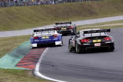 Dirk Werner, BMW Team Schnitzer BMW M3 DTM, Timo Scheider, Audi Sport Team ABT Sportsline Audi A5 DTM