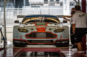 #98 Aston Martin Racing Aston Martin Vantage V8 at technical inspection