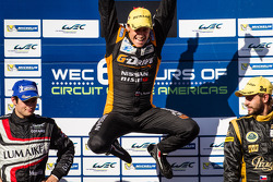 LMP2 podium: class winner Roman Rusinov