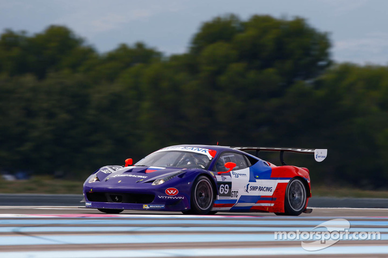 #69 SMP Racing Ferrari F458 Italia GT3: Fabio Babini, Viktor Shaitar, Kiriil Ladygin