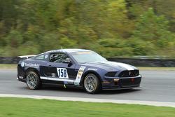 #158 Dempsey/Miller Racing Mustang Boss 302R GT: Ian James, Joe Foster
