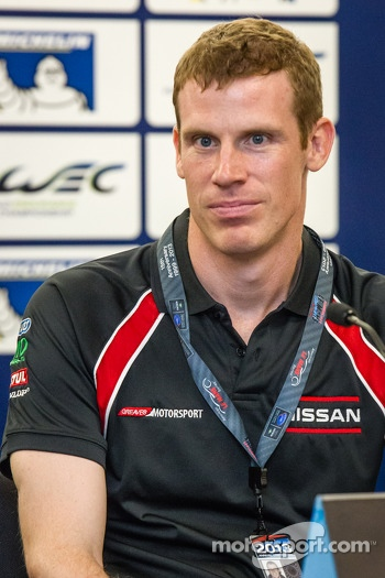 Press conference for the North American WEC drivers: Chris Dyson