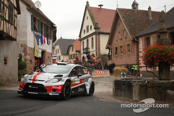 Romain Dumas and Denis Giraudet, Ford Fiesta RS WRC