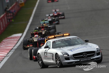 The Safety car was called out
