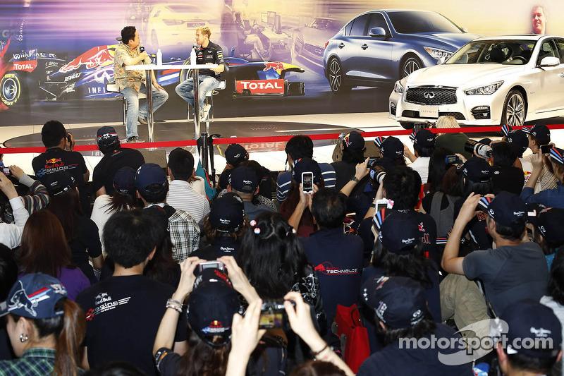 Sebastian Vettel, Red Bull Racing appearance