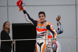 Second place Marc Marquez