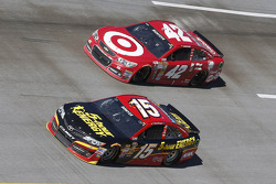 Clint Bowyer and Juan Pablo Montoya