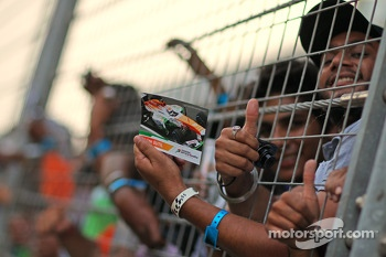 Sahara Force India F1 Team fans