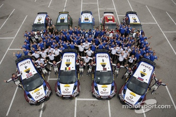 The Qatar M-Sport World Rally Team 2013