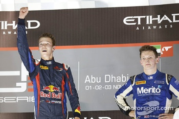 Race winner and 2013 champion Daniil Kvyat