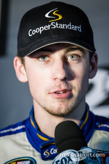 Pole winner Ryan Blaney
