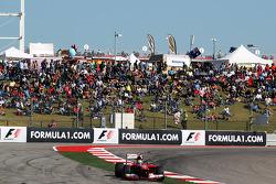 Felipe Massa, Ferrari F138 runs wide