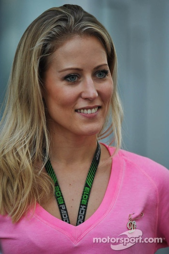 Jennifer Beck, girlfriend of Adrian Sutil