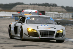 #35 Flying Lizard Audi R8: Seth Neiman, Dion on Molke
