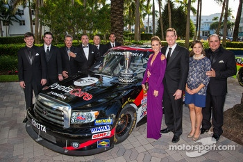 NASCAR Camping World Truck Series champion owner Kyle Busch