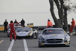 #3 HTP Gravity Charouz Mercedes SLS AMG GT3: Jarek Janis, Petr Charouz