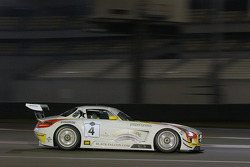 #4 Team Abu Dhabi by Black Falcon Mercedes SLS AMG GT3: Klaas Hummel, Adam Christodolou, Andreas Simonsen