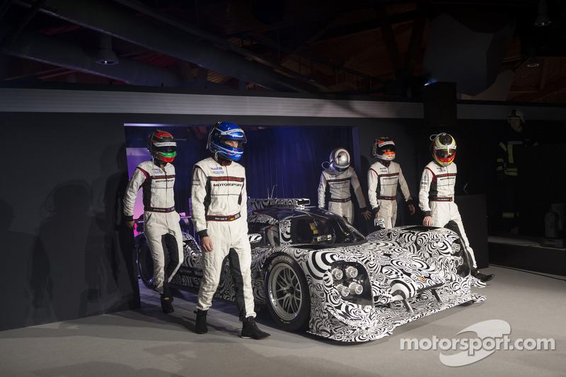 The 2014 Porsche LMP1 drivers are announced