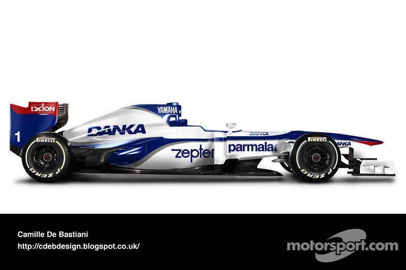 Formel-1-Auto im Retrodesign: Arrows 1997