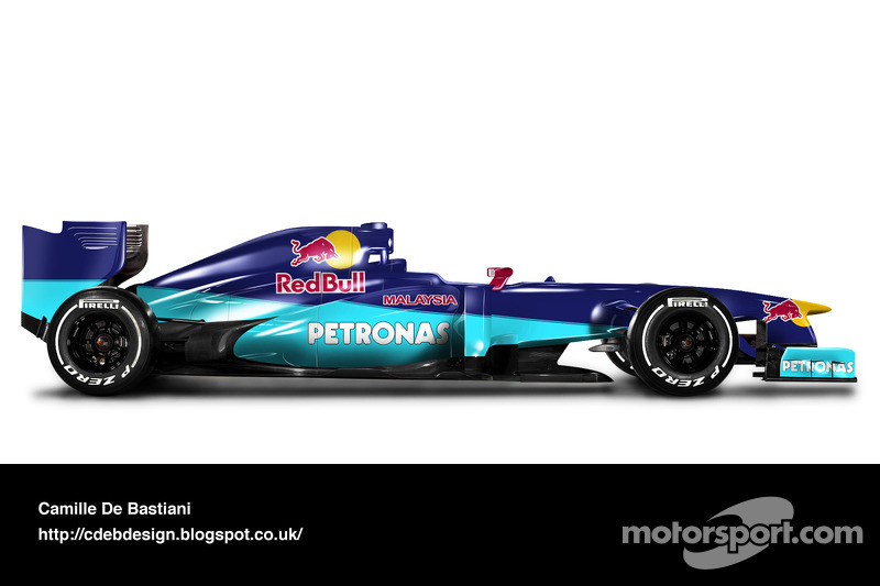 Formel-1-Auto im Retrodesign: Sauber 2000