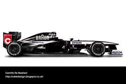 Retro F1 Car - Tyrrell 1991