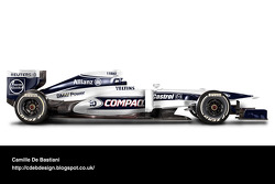 Retro F1 car - Williams 2000