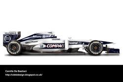 Retro F1 car - Williams 2000