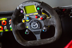 Steering wheel of SpeedSource Mazda