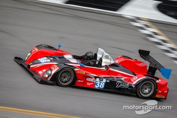 #38 Performance Tech Motorsports ORECA FLM09 Chevrolet: Charlie Shears, Jon Brownson, Raphael Matos