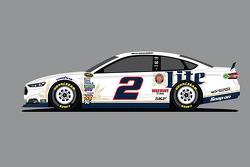 Penske Racing special Miller Lite paint scheme