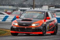 #76 Compass360 Racing Subaru WRX-STI: Ray Mason, Ryan Winchester