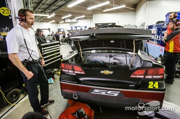 Alan Gustafson, crew chief for Jeff Gordon, Hendrick Motorsports Chevrolet