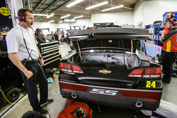NASCAR-CUP: Alan Gustafson, crew chief for Jeff Gordon, Hendrick Motorsports Chevrolet
