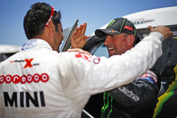 Stéphane Peterhansel and Nasser Al-Attiyah