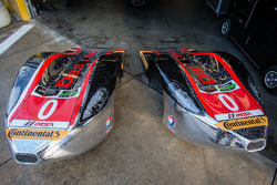 #0 DeltaWing Racing Cars DeltaWing DWC13 Elan nose cones