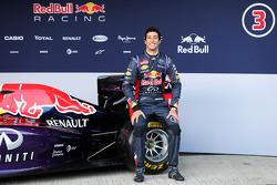 Daniel Ricciardo, Red Bull Racing at the unveiling of the Red Bull Racing RB10