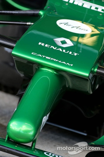 Caterham F1 Team front nose