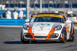 #24 Autometrics Motorsports Porsche Cayman: Cory Friedman, David Baum