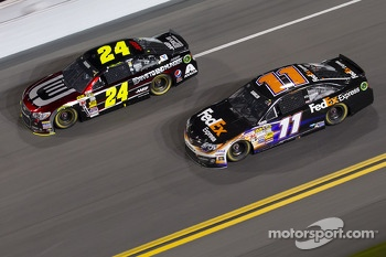 Jeff Gordon and Denny Hamlin