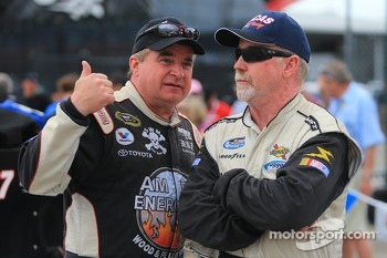 Joe Nemechek and Bobby Gerhart