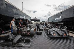 BAR1 Motorsports paddock area