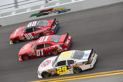 Race Action; Dale Earnhardt Jr.; Landon Cassill; Scott Lagasse Jr.