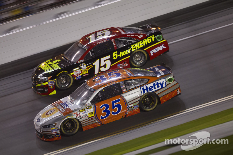 Eric McClure and Clint Bowyer