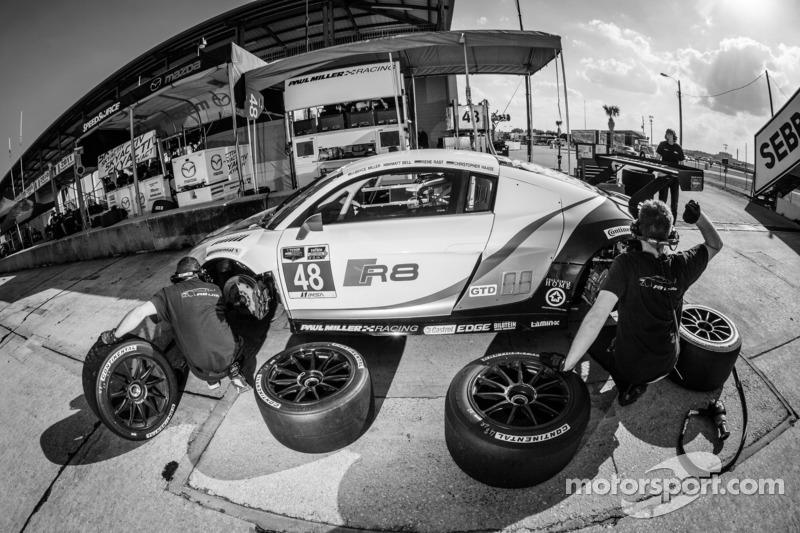 48 Paul Miller Racing Audi R8 Lms Bryce Miller Matt