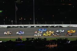 Dale Earnhardt Jr., Hendrick Motorsports Chevrolet leads