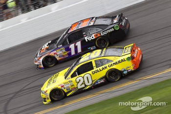 Matt Kenseth and Denny Hamlin