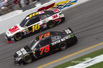Martin Truex Jr. and Greg Biffle