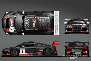 The Belgian Audi Club WRT 2014 livery
